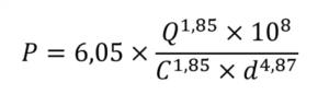 formule hazen