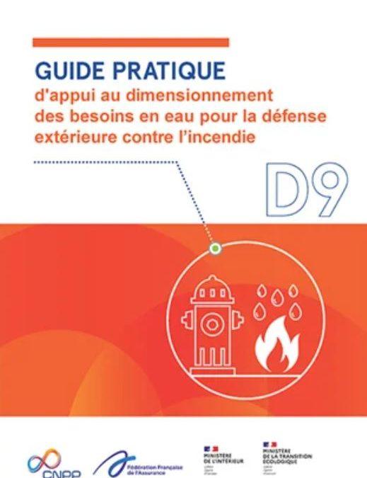 Nouvelles versions des guides D9 et D9A